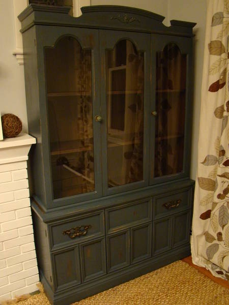 Heres The Hutch I Painted Today Its On Kijiji