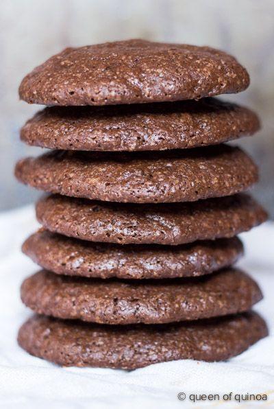 Dark Chocolate Quinoa Cookies - yum!