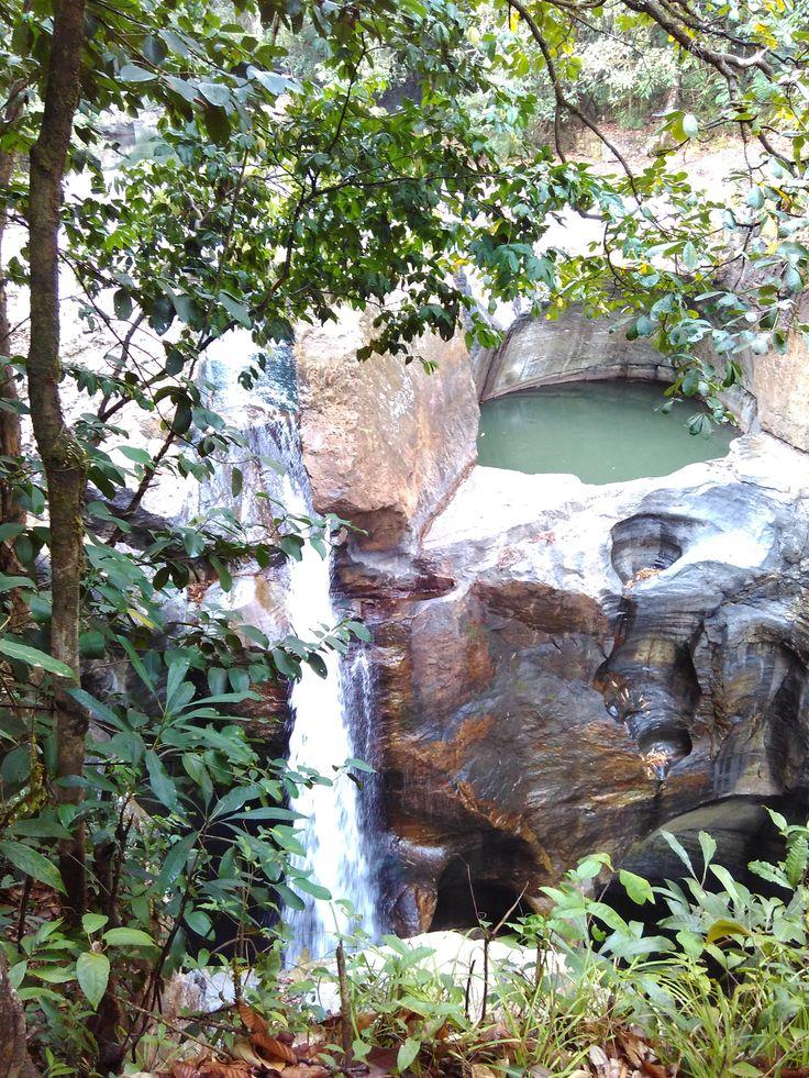 Cunca Wulang Waterfall, West Manggarai, NTT, Indonesia.