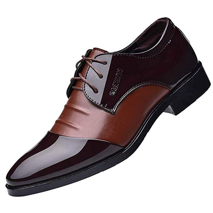 Men/'s Leather Shoes Formal Oxfords Pointed Toe Casual Wedding Dress Party Prom