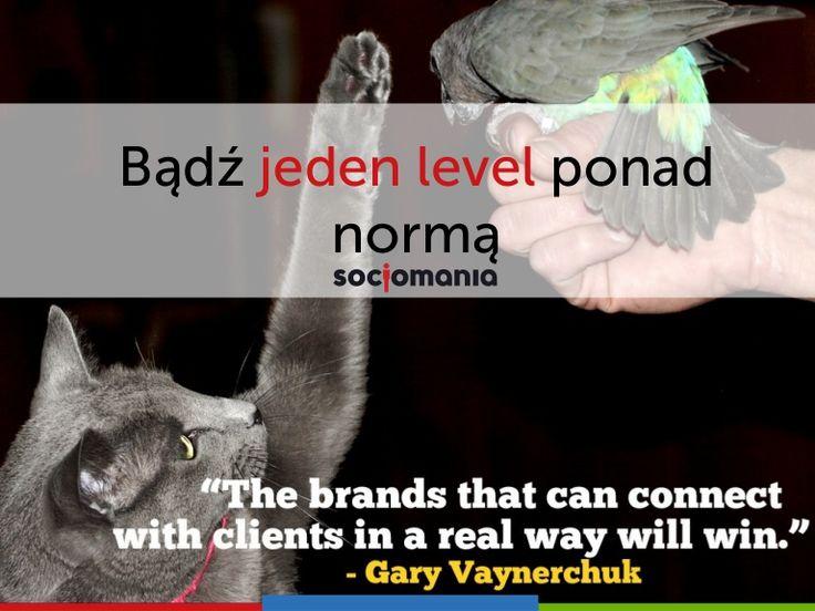 Bądź jeden level ponad normą - o obsłudze klienta w #socialmedia by @noisettee