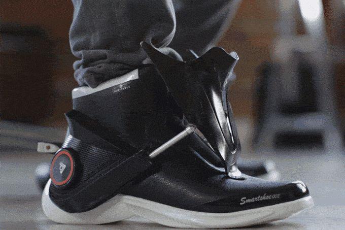 Первые в мире умные кроссовки — Digitsole Smartshoe