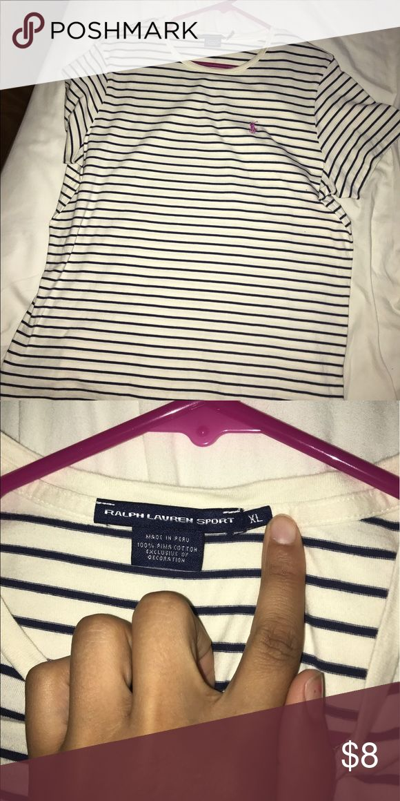 Ralph Lauren polo Tee shirt Soft tee! Comfortable! Sport like material! Stretch! Polo by Ralph Lauren Tops Tees - Short Sleeve