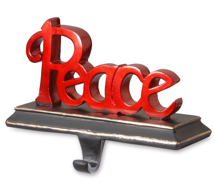 Peace Stocking Holders 91