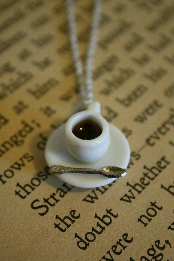 Coffee charm.