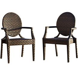 Jcpenney.com | Adriana Pair Of Outdoor Wicker Chairs