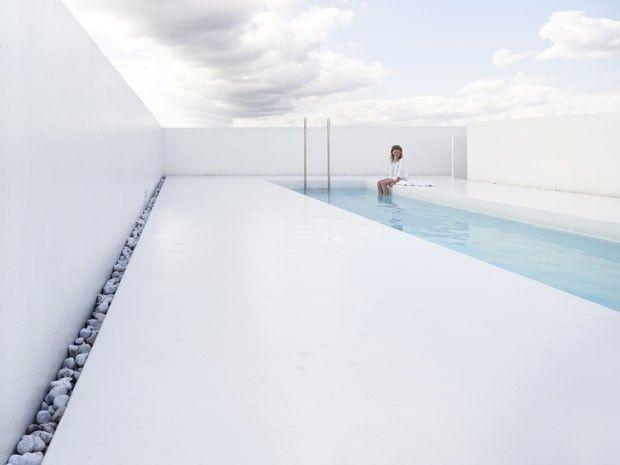 Sem lugar para a piscina? Leve-a para o alto!