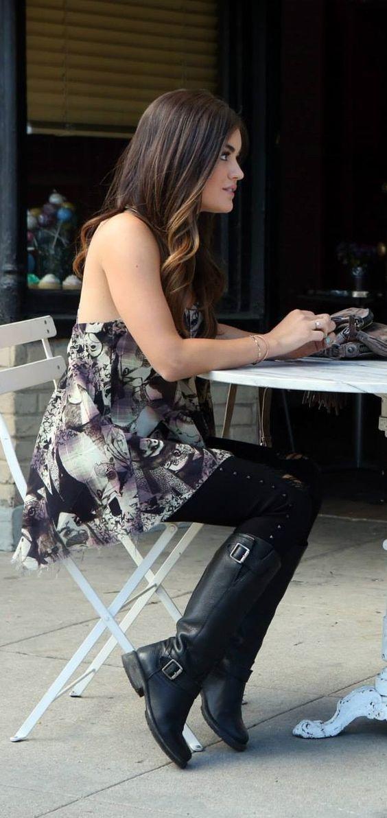 Aria Montgomery style