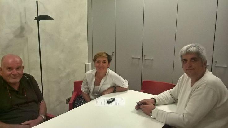 27/9/2016. Monica Valdambrini e Massimiliano Grazi sono stati confermati alla guida della Federazione Meccanica di Confartigianato Imprese Arezzo
