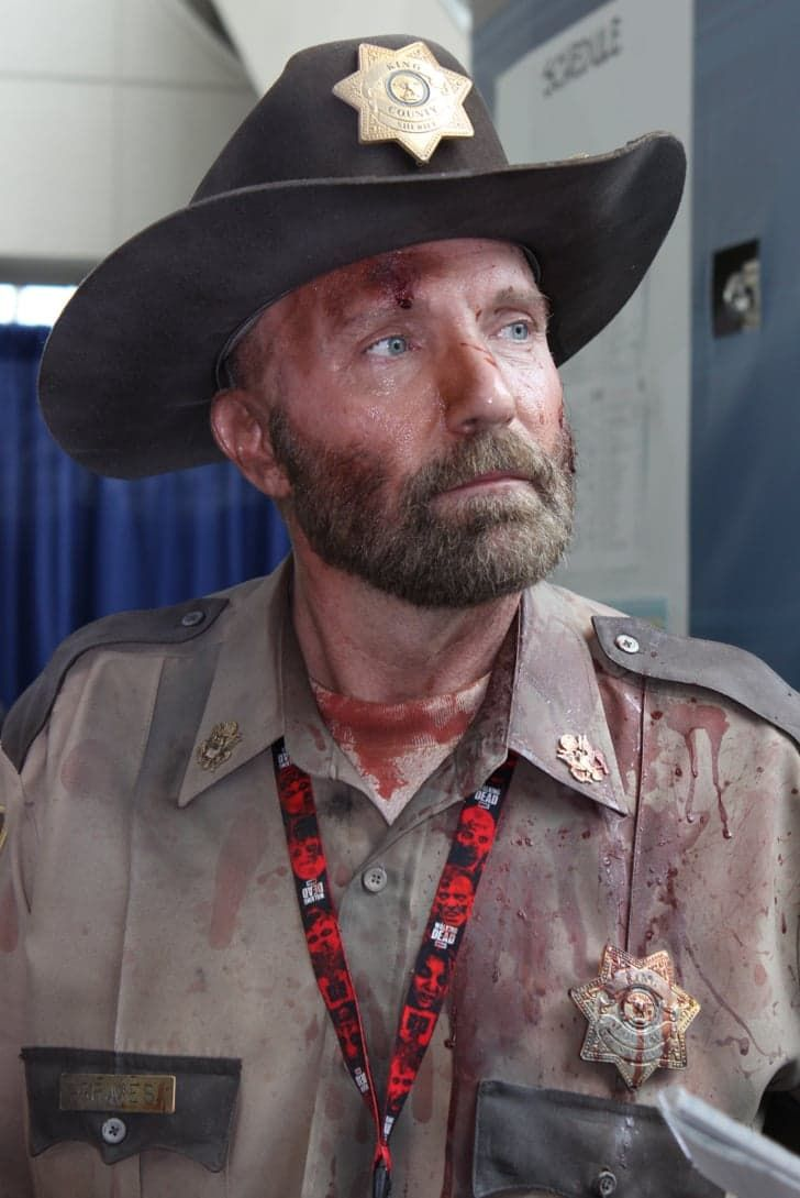 Pin for Later: The Absolute Best Cosplays From Comic-Con 2015 Rick Grimes