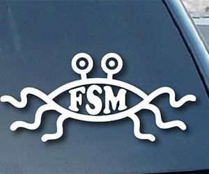 Flying Spaghetti Monster Decal $3.30