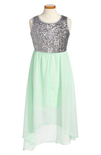 Roxette High/Low Dress (Big Girls) available at #Nordstrom--I want this for Emma!