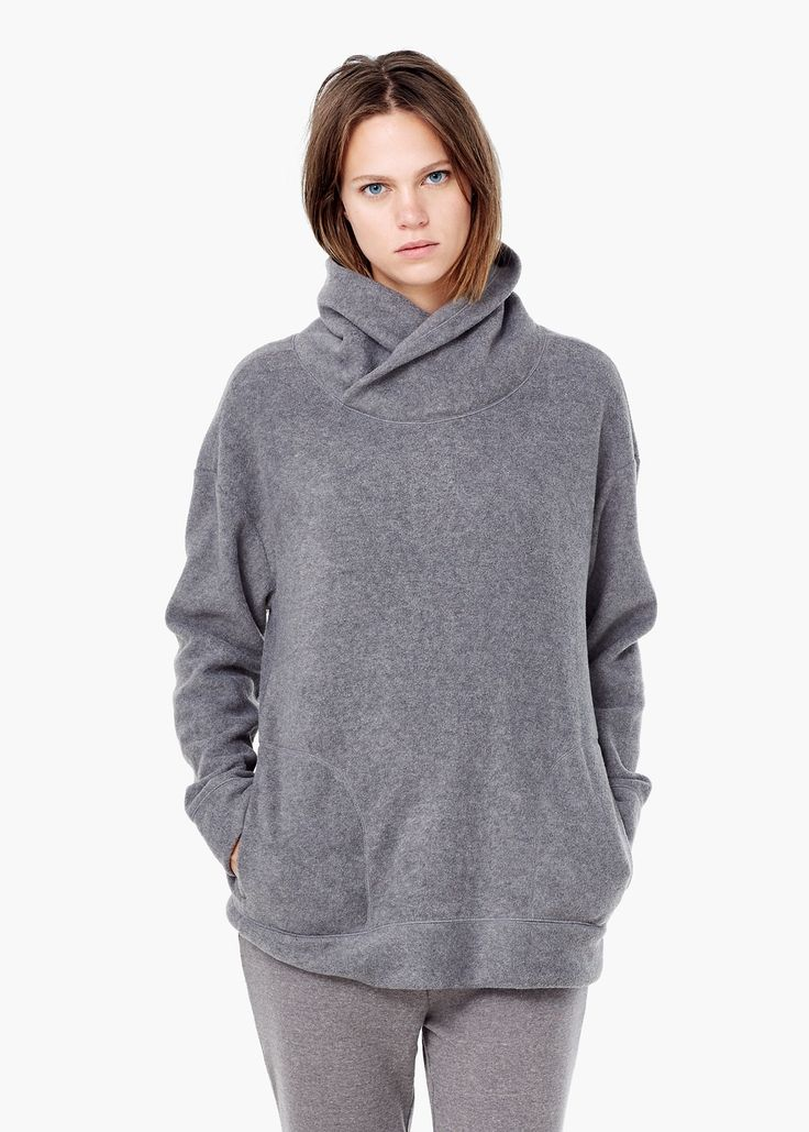 Sudadera polar - Homewear de Mujer | MANGO