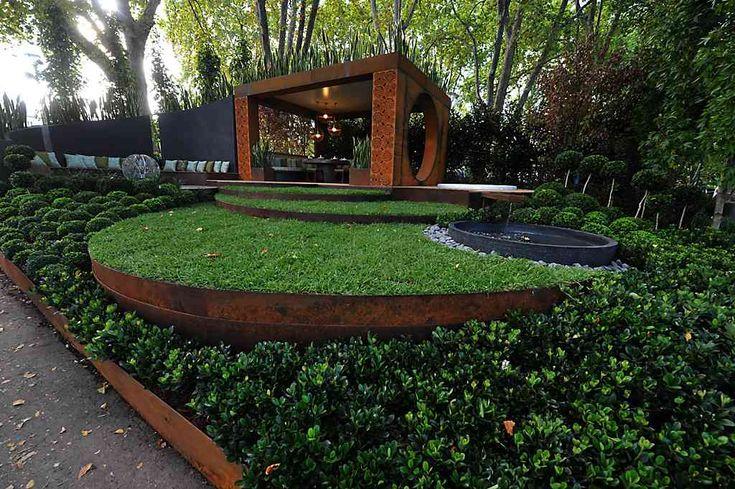 Acier Corten : la star moderne du jardin -  Arbres, Garten et Jardins