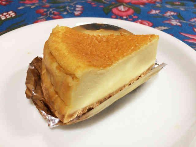 ココナッツチーズケーキの画像