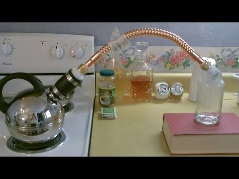 """Homemade Water Distiller - DIY - Stove Top """"Pure Water"""" Still - EASY instructions!"""