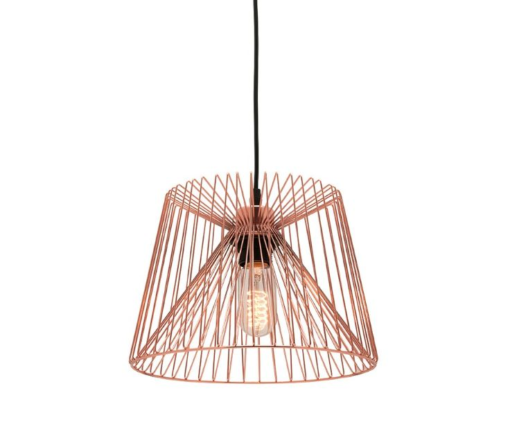 43 best copper lights images on pinterest brass copper and zurich small pendant light wire shade black or copper mercator mp7231s 8800 greentooth Images