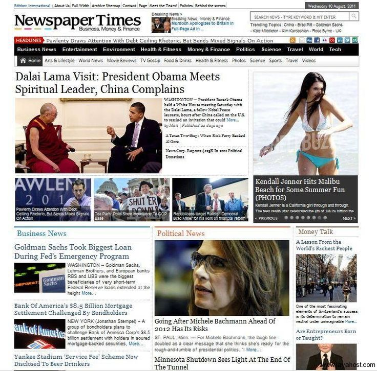 Jasa pembuatan website Portal Berita / Majalah Online