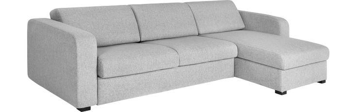 Porto 3 Grand canapé-lit en tissu avec angle réversible et rangement (www.habitat.fr)