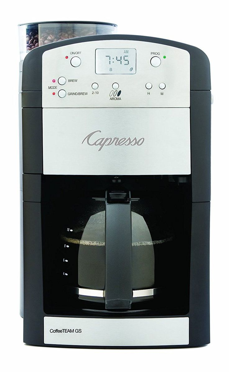 nice 10 Modern Coffee Maker with Grinder Machines Review - Find Morning Perfection in 2017 Check more at https://cozzy.org/best-coffee-maker-with-grinder/