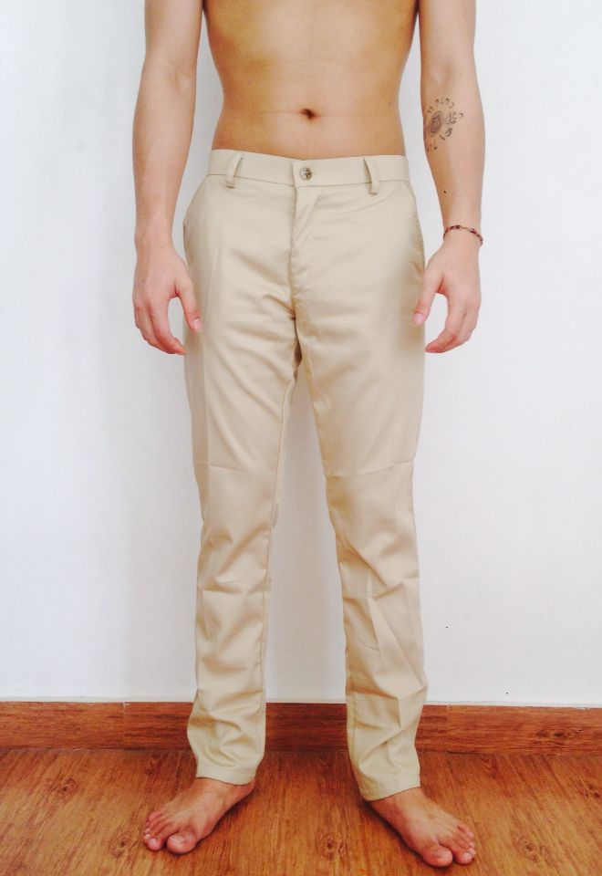 Freya chino pants cream, more info: +628982377867, @freyabali