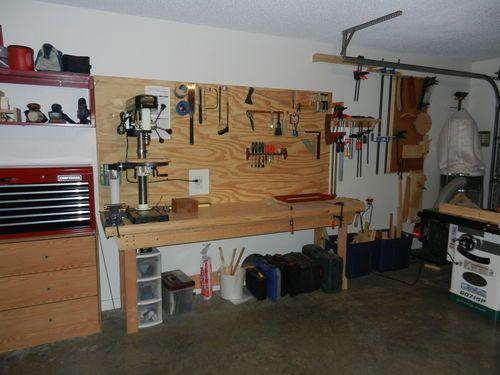 Настройка Shop # 4: Мой рай - Рекс B @ LumberJocks.com ~ деревообрабатывающего сообщества