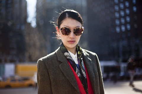 Miu Miu catwalk sunglasses