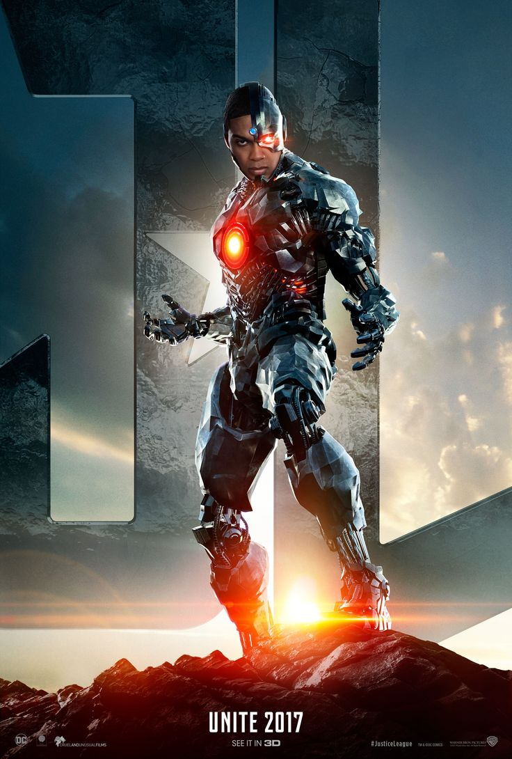 Cyborg protagoniza este nuevo poster de La Liga de la Justicia. Hay más si haces click en la imagen