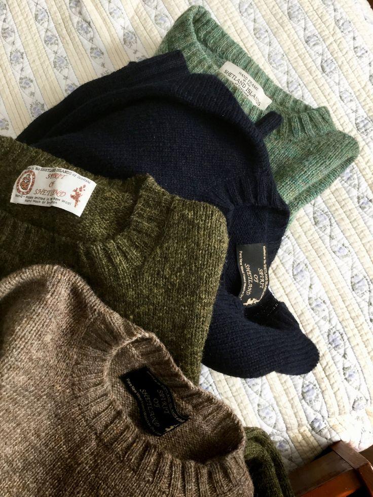 Spirit of Shetland sweaters.