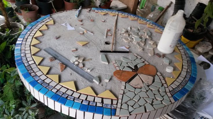 Paso a paso proyecto mesa de jardín