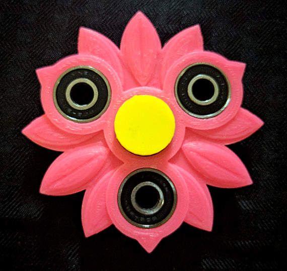 Girly Girl Fidget Spinner Custom Color Focus Enhancer