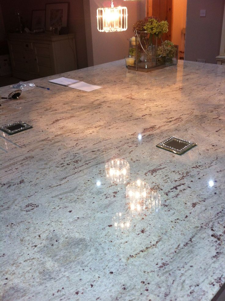 River White Granite--this is the granite in the model -- hoping we can get it.