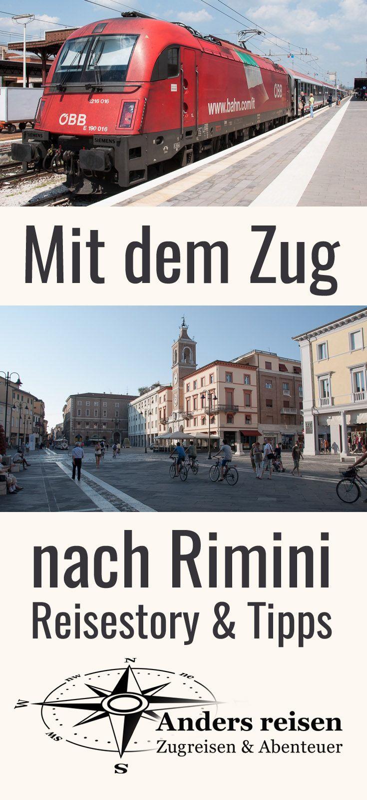 Direkter Zug Nach Rimini Bequem In Den Urlaub Reisetipps