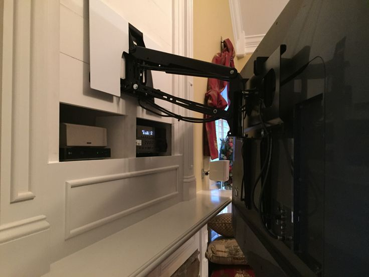 17 best ideas about flat screen tvs on pinterest flat - How high to mount tv in living room ...