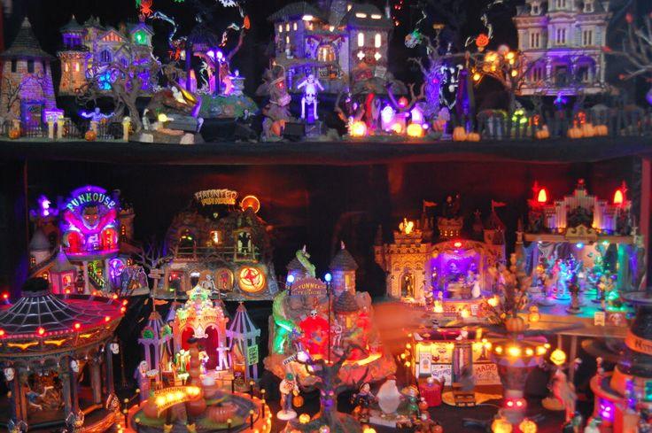 Christmas Village Display Tips | Halloween Village - Dept 56 vs. Lemax - Page 4