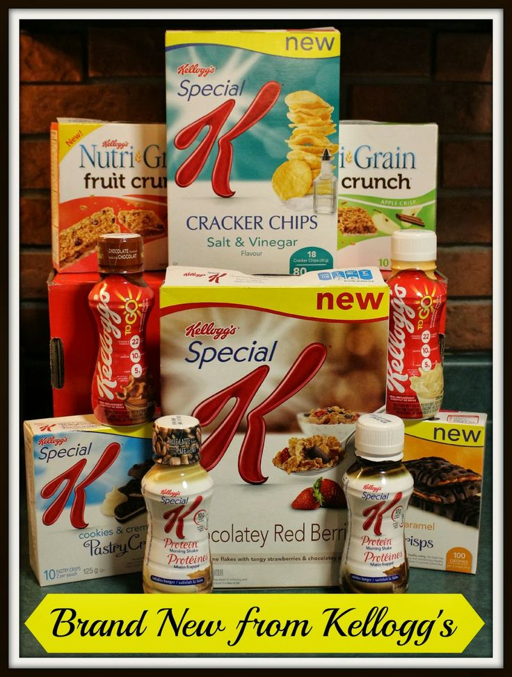 Take a Look at What's New From Kellogg's Canada plus #Giveaway! CAN ~ 3/14 | Homeschooling Mom 4 Two