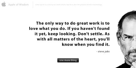 sweetQuotes, My Life, True, Things, Steve Jobs, Ripped Steve, People, Don T Settle, I Am