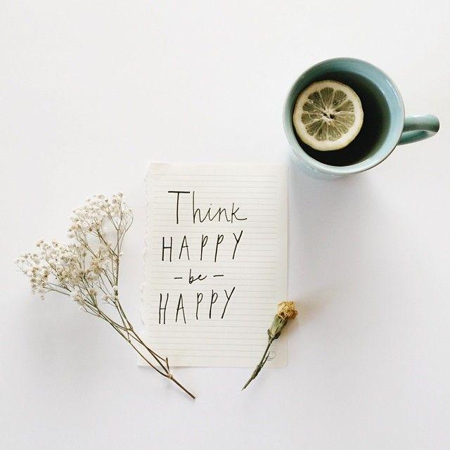 Think Happy Be Happy//
