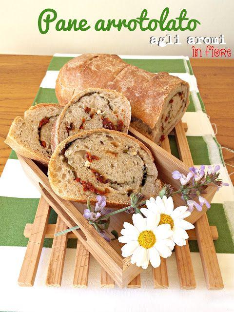I biscotti della zia: Panissimo #41 - Pane arrotolato agli aromi in fior...
