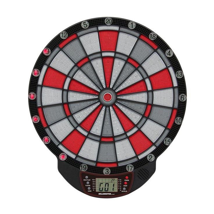 Bullshooter by Arachnid Illuminator 1.0 Electronic Dart Board and Darts Set - ILM100