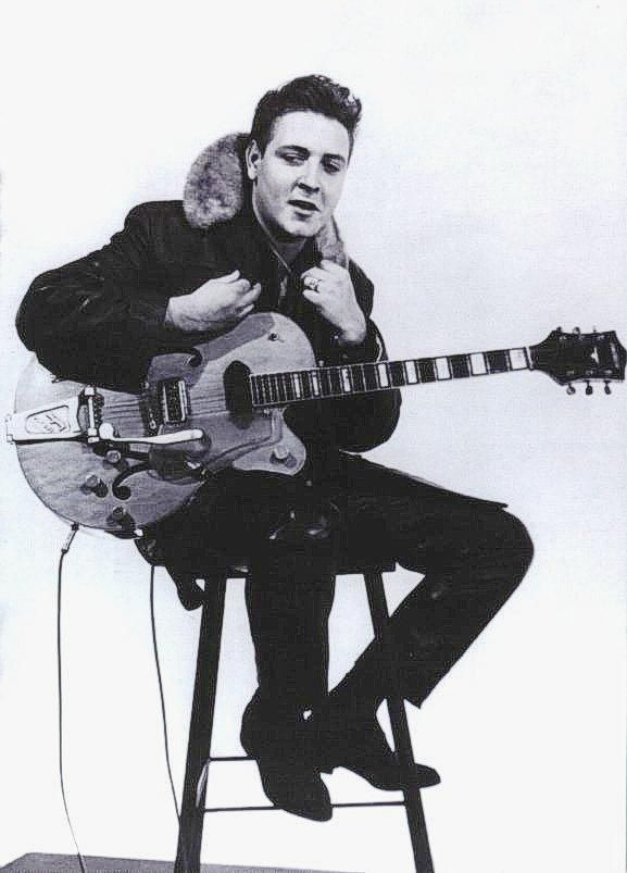 EDDIE COCHRAN always wore the coat because he was cold