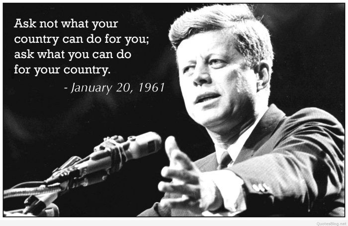 Celebrity Quotes Kennedy Quotes Jfk Quotes Most Powerful Quotes