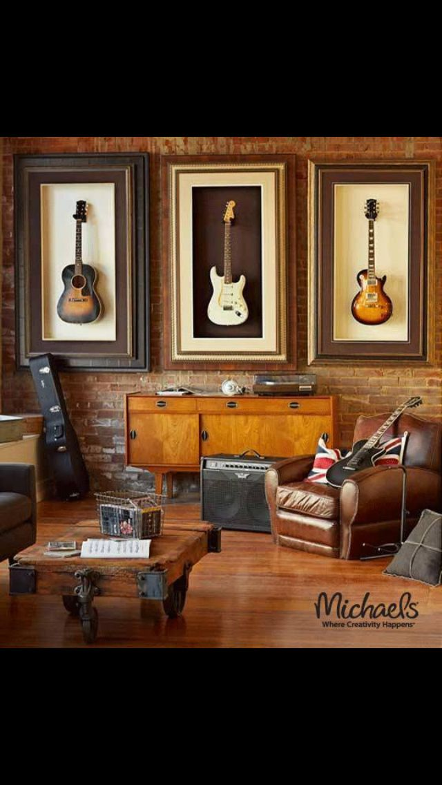 This makes displaying guitars so much better!