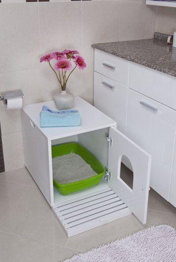How to Spruce up Your Cat's Bathroom / My Saskatoon