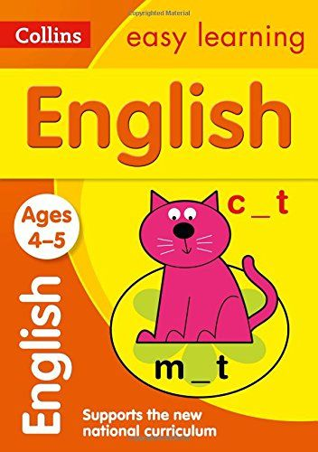 English Ages 4-5: New Edition (Collins Easy Learning Preschool): Amazon.co.uk: Collins Easy Learning: 9780008134204: Books