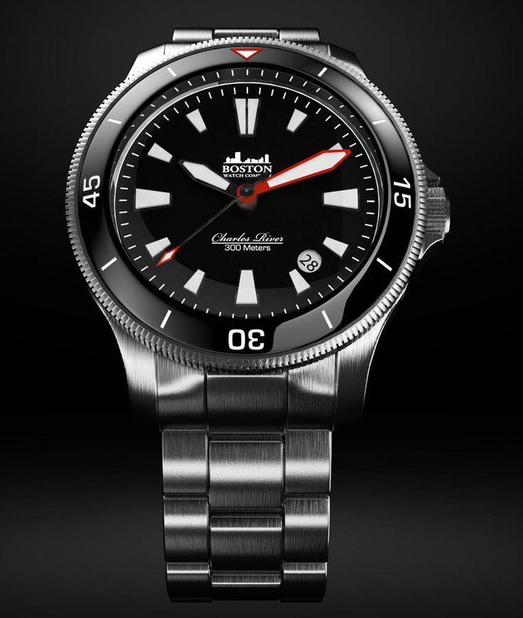 Boston Watch Co. - Charles River Diver