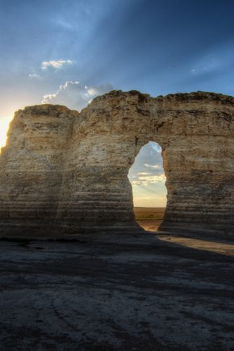 Kansas | The Monument Rocks | The Most Beautiful Spot in Every U.S. State | PureWow