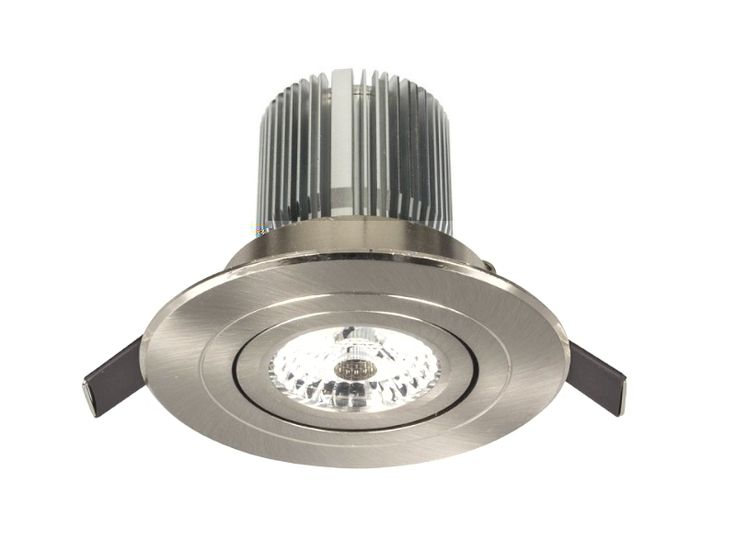Luxor 13w LED Gimbal Downlight Flat Profile COB Dimmable Brilliant 18244 18243, $39.00