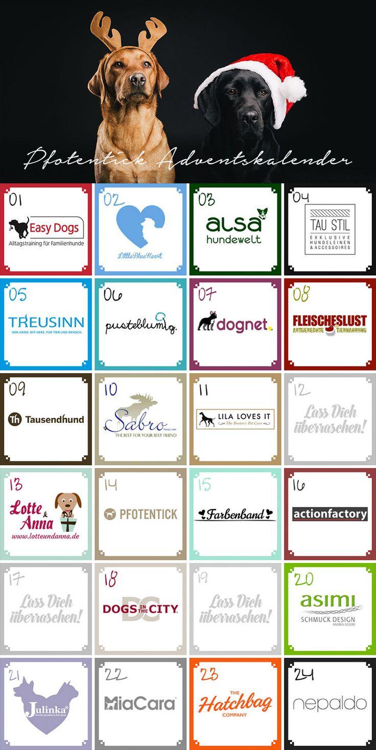 Unser großer Adventskalender 2016 ist gespickt mit Preisen von wundervollen Marken, Unternehmen und Menschen. Vom 1. bis zum 24.12.2016 gibt es jeden Tag hochwertige Gewinne für Hundebesitzer und Hundefreunde! Wenn Du Dich in unsere E-Mail-Liste einträgst, erfährst Du jeden Morgen als Erster, welcher Preis im Türchen ist und hast am Ende erneut die Chance auf einen tollen Gewinn!
