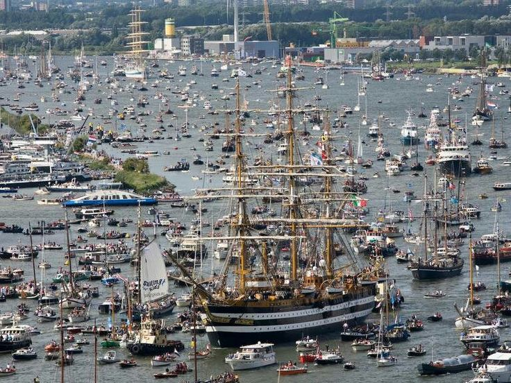 The 2014 Tall Ships Races event is predicted to attract 100 Tall Ships from around the world. The Races will start in Harlingen, The Netherlands. From Harlingen the vessels will race to Fredrikstad, Norway to Bergen. The final leg is a race from Bergen to Esbjerg, Denmark. For more info: http://www.sailtraininginternational.org/events/2014-the-tall-ships-races